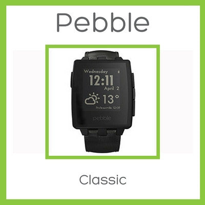 Pebble Classic Smartwatch - Nothing Has Ever Suited Your Wrist Better - D W-P Enterprises LTD - 1