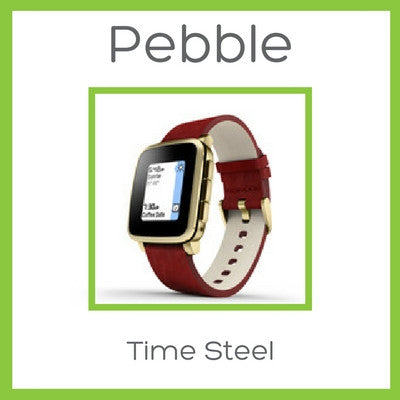 Pebble Time Steel Smartwatch (the best ever) - D W-P Enterprises LTD - 1