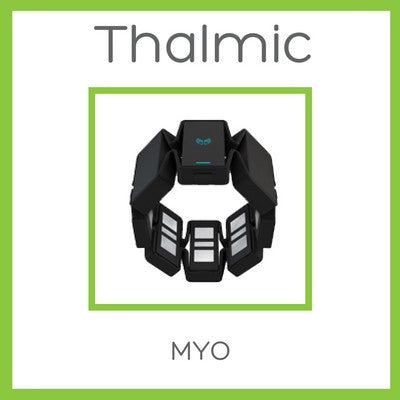 Myo Gesture Control Armband - Black - Your New Remote Control - D W-P Enterprises LTD - 1