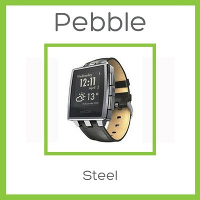Pebble Steel Smartwatch - Stealing Your Rolex's Place - D W-P Enterprises LTD - 1