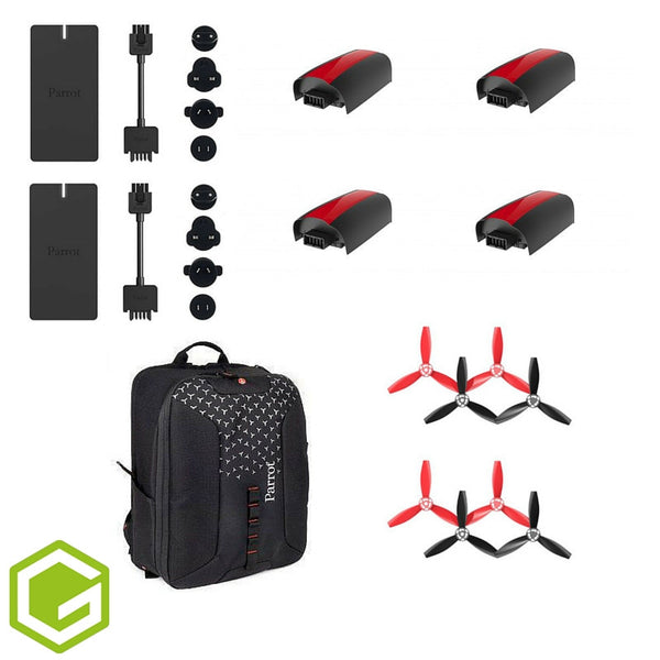 Parrot Bebop 2 - Essential Accessories Bundle - D W-P Enterprises LTD - 2