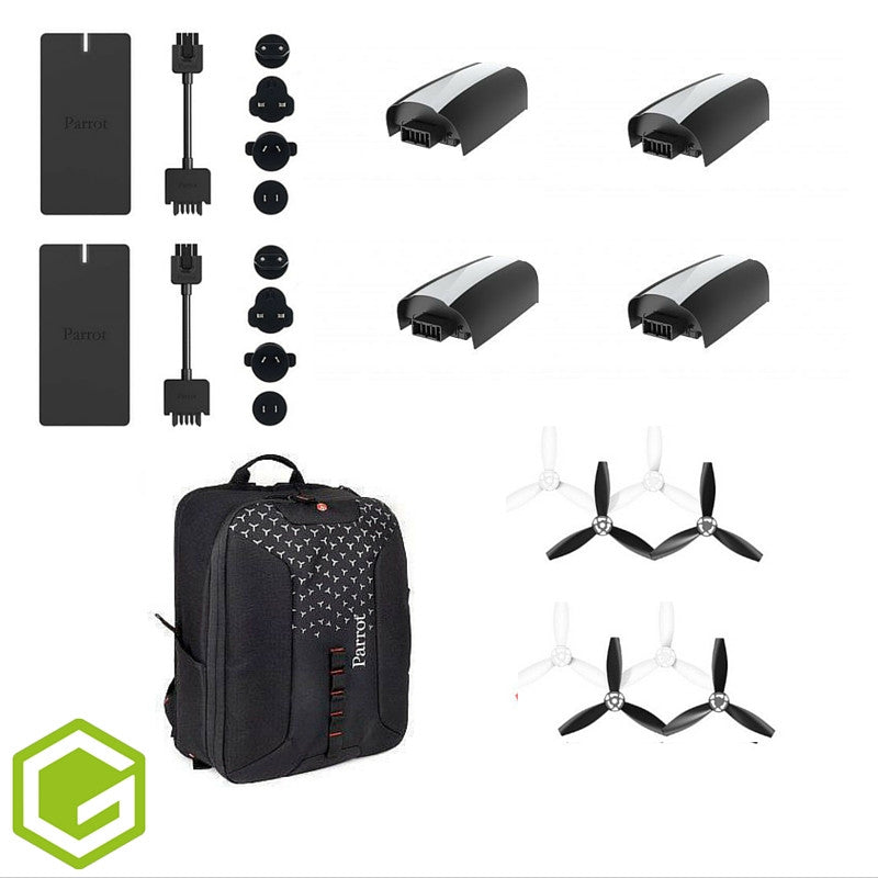 Parrot Bebop 2 - Essential Accessories Bundle - D W-P Enterprises LTD - 3