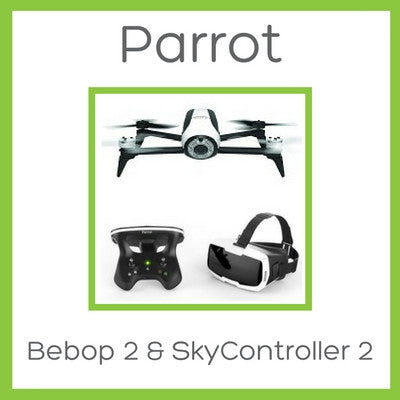Bebop 2 with SkyController 2 - FPV Package - D W-P Enterprises LTD - 1