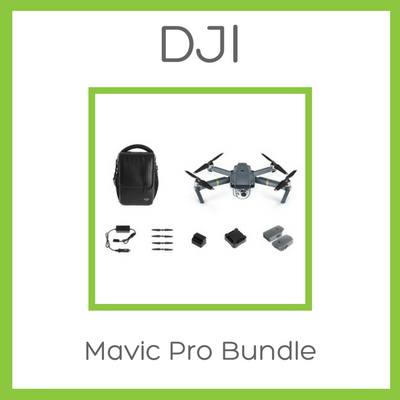 DJI Mavic Pro Fly More Combo Bundle - January Delivery - D W-P Enterprises LTD - 1