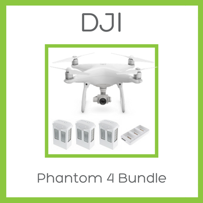 DJI Phantom 4 Bundle (2 Extra Batteries + Charging Hub) - D W-P Enterprises LTD