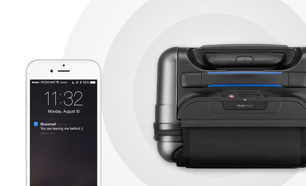 BLUESMART: THE WORLD'S FIRST SMART SUITCASE - Bag to the Future - D W-P Enterprises LTD - 7