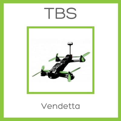 TBS Vendetta FPV Racer - D W-P Enterprises LTD - 1