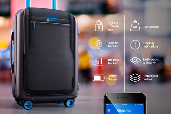 BLUESMART: THE WORLD'S FIRST SMART SUITCASE - Bag to the Future - D W-P Enterprises LTD - 6