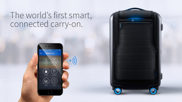 BLUESMART: THE WORLD'S FIRST SMART SUITCASE - Bag to the Future - D W-P Enterprises LTD - 9