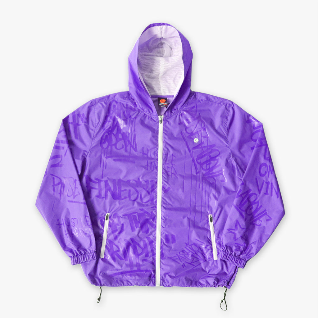 Elbowgrease Glossiti // Wind Jacket