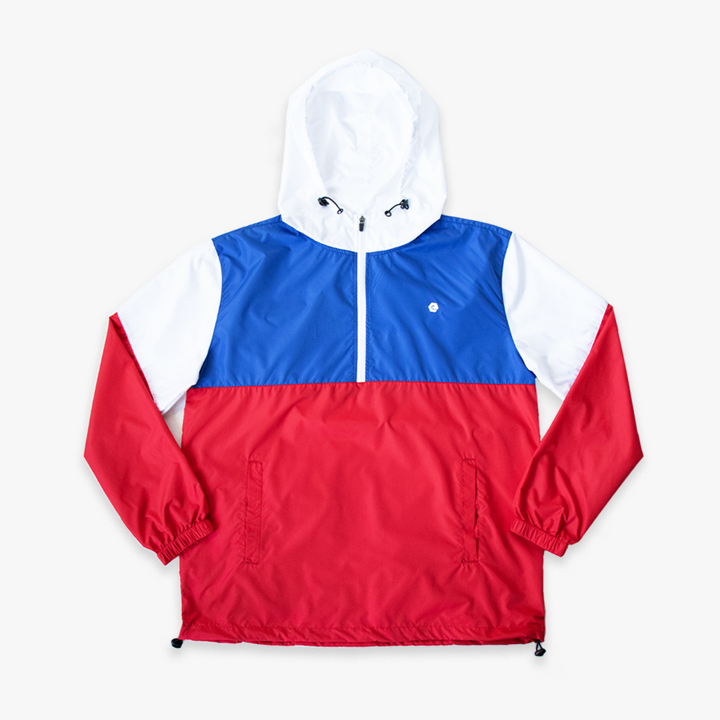 elbowgrease RED COMBO // Anorak Jacket