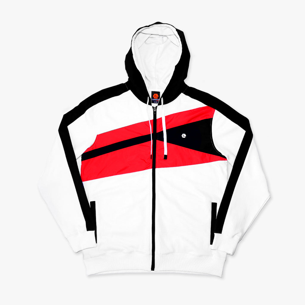 Elbowgrease Monaco // Full Zip Fleece Hoodie