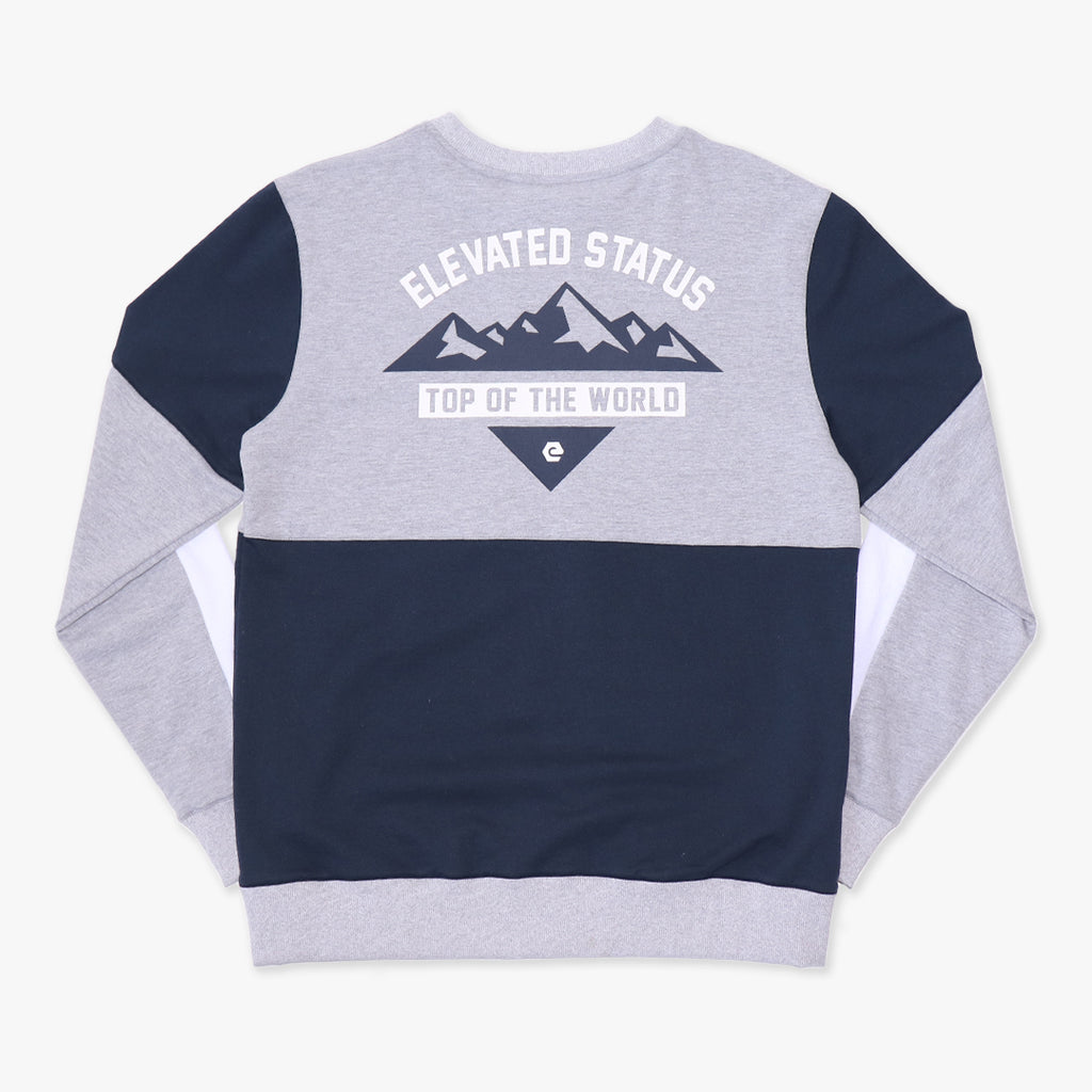 Elbowgrease Elevated Status // Fleece crew neck