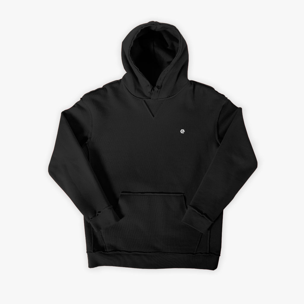 Elbowgrease Raw Nature // Heavyweight fleece pullover hoodie
