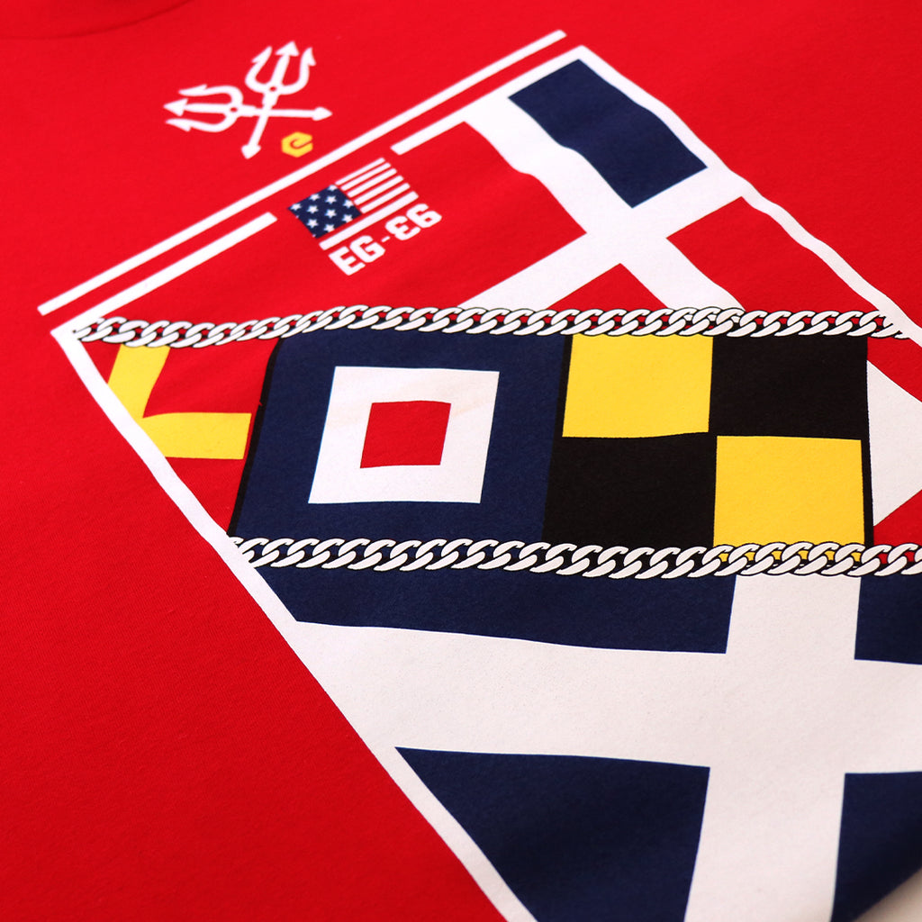 elbowgrease TEE // Flags