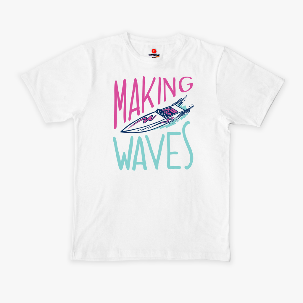 elbowgrease TEE // Making Waves