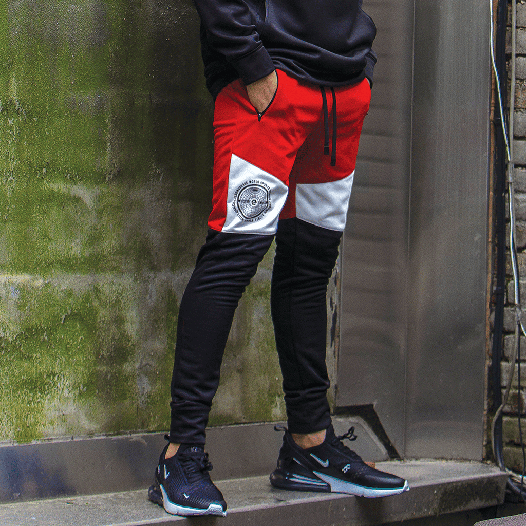 elbowgrease WINTER GAMES // Colorblocked Joggers