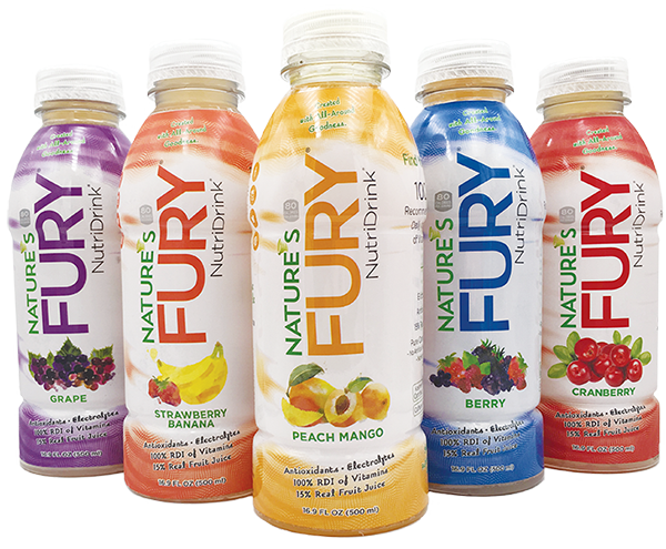 Nature's Fury® Nutri Drink® - Sample Pack-12pack Case