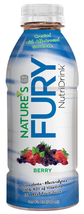 Nature's Fury® Nutri Drink® - Berry - 12pack Case