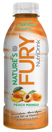 Nature's Fury® Nutri Drink® - Peach Mango - 12pack Case