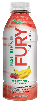 Nature's Fury® Nutri Drink® - Strawberry Banana - 12pack Case