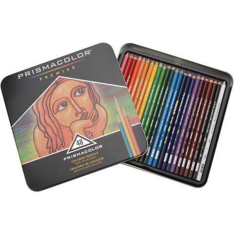 Prismacolor - PREMIER - Colored Pencils 48 pc - Hallmark Scrapbook