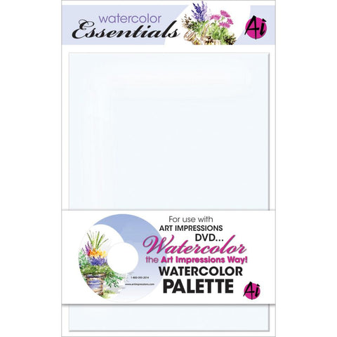 Art Impressions - Watercolor Palette - Hallmark Scrapbook