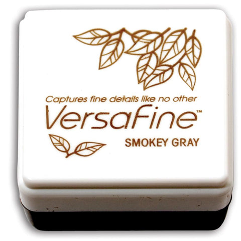 "VersaFine Stamp Pad - SMOKY GRAY 1"" CUBE Stamp Pad"