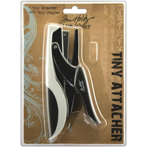 Tim Holtz - Tiny Attacher - With Refill Staples 6.35 MM