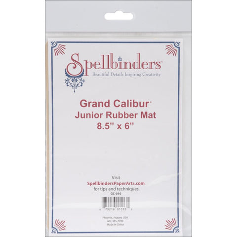 "Spellbinders Grand Calibur - Junior Rubber Embossing Mat 8.5"" X 6"""