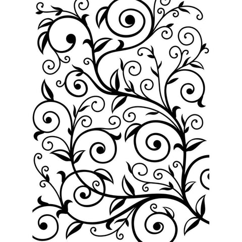 "Darice Embossing Essentials - 4.25"" X 5.75"" Embossing Folder - VINE PATTERN"