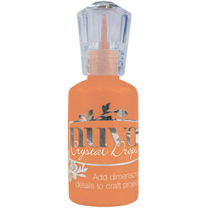 Nuvo Crystal Drops - Gloss RIPENED PUMPKIN - By Tonic Studio - Hallmark Scrapbook