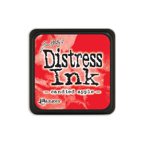 Tim Holtz Ranger Distress MINI Ink Pad - Candied Apple - Hallmark Scrapbook