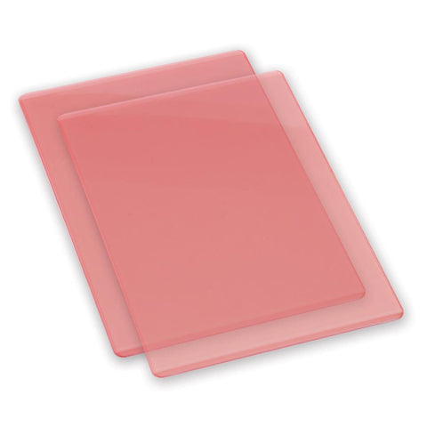 Sizzix BIGkick and BIG SHOT Standard Cutting Pads - CORAL - 1 pair