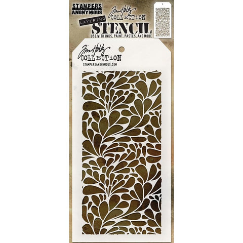 Tim Holtz - Layering Stencil - SPLASH