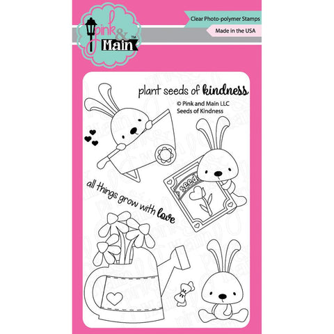 Pink & Main - SEEDS OF KINDNESS - Stamp Set