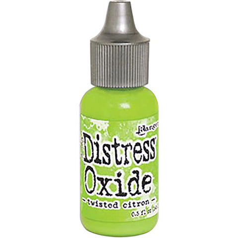 Tim Holtz Ranger Distress Oxide Reinker - TWISTED CITRON
