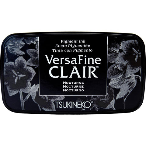 VersaFine Clair Pigment Ink Pad - NOCTURNE Black