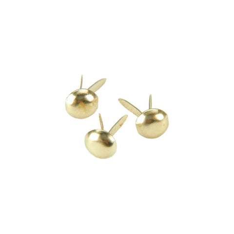 Creative Impressions - Mini Metal Paper Fasteners 3mm 100/Pkg - GOLD