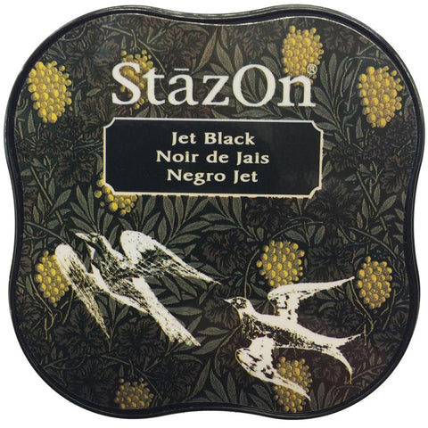 StazOn - MINI Ink Pad - JET BLACK