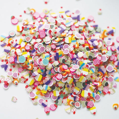 Dress My Crafts - DESSERT MIX Shaker Elements (8g)