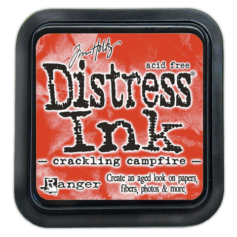 Tim Holtz Ranger Distress Ink Pad - CRACKLING CAMPFIRE