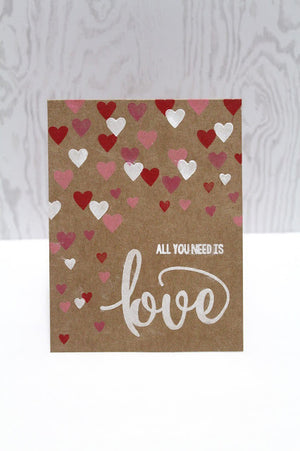 Pink & Main - TRUE LOVE - Stamp set - Hallmark Scrapbook - 5