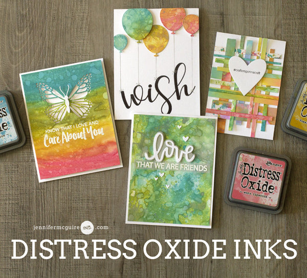 Using Tim Holtz Distress Paints