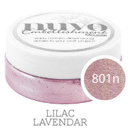 Nuvo Embellishment MOUSSE - LILAC LAVENDER- By Tonic Studio - Hallmark Scrapbook - 3