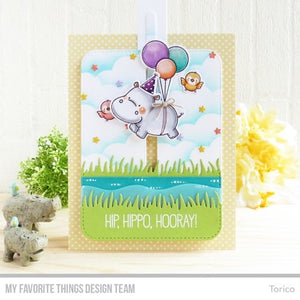 My Favorite Things - HAPPY HIPPOS - Stamp Set