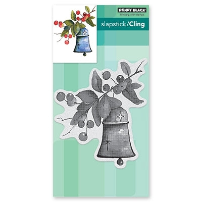 Penny Black - BELL AND BERRIES - Cling Rubber Stamp