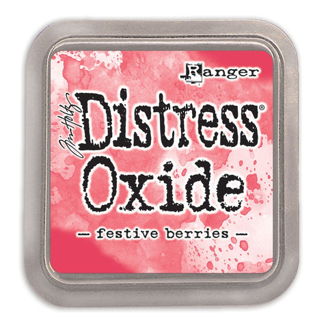 Tim Holtz Ranger - Distress Oxide Ink Pad - FESTIVE BERRIES