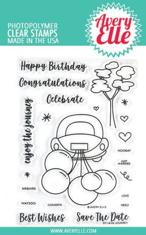 Avery Elle - JOURNEY - Clear Stamp Set - 30% OFF!