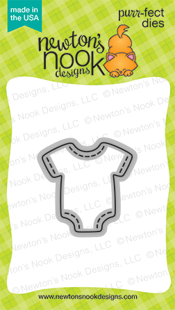 Newton's Nook Designs - STITCHED ONESIE Die Set